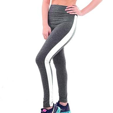 junkai Mujer Leggins Push Up Tights Yoga - Mujeres Leggings ...