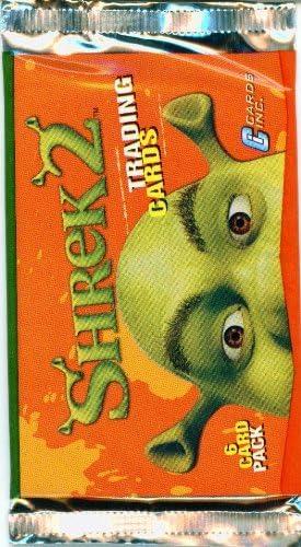 Amazon Com Shrek 2 Trading Card Pack Toys Games