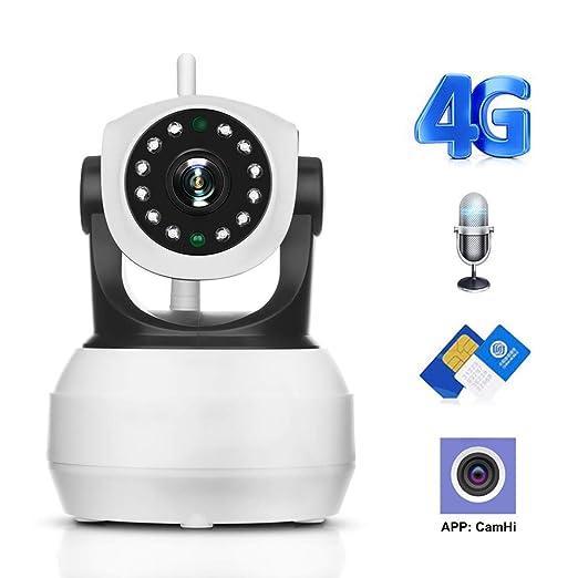 Hd1080P 4G 3G Cámara con Tarjeta Sim Cámara 2Mp WiFi IP ...