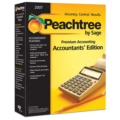 Peachtree By Sage Premium Accounting 2007 - Accountants' Edition 5-Users
