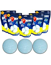 Airheads Bath Bombs (5) Three Pack Blue Raspberry Total Ounces 26.4 Total Bath Bombs Included 15 No Staining Skin or Tub, Make Bath Time Fun for Kids, Great Fragrance, Great Color. Bath Fizzies