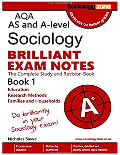 AQA A-level Sociology BRILLIANT EXAM NOTES (Book 2): The Complete
