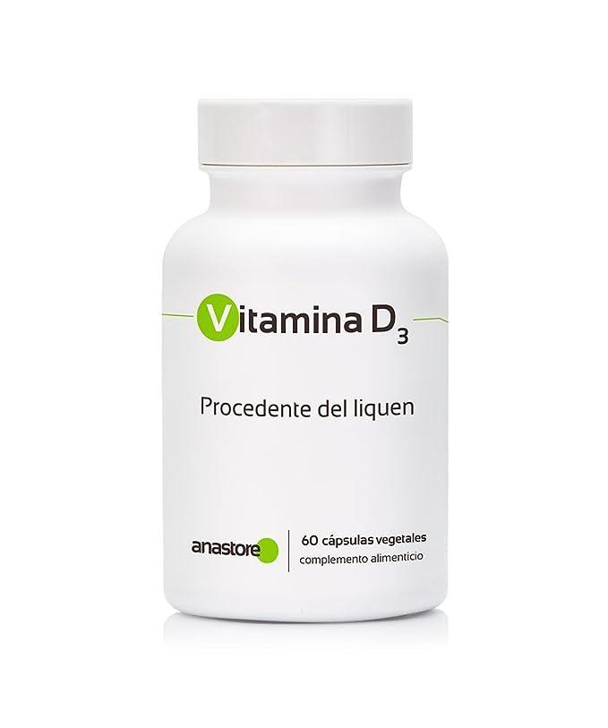 Anastore Vitamina D3 Vegetal - 60 Cápsulas: Amazon.es: Salud y cuidado personal