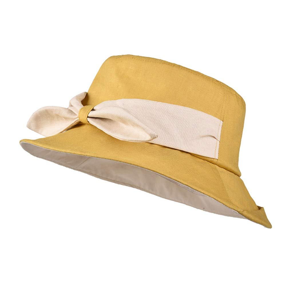 A Ladies Sun Hat Beach Hats,Hat Woman Summer Sunscreen Big Along AntiUltrapurple Shade Excursion Seaside Folding Pot hat Fisherman Sun hat