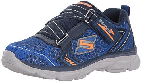 Skechers Kids Boys' Advance-Power Tread Sneaker,BLUE/NAVY,2 M US Little ()