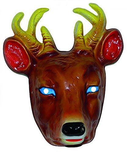 Nicky Bigs Novelties Vintage Plastic Cute Assorted Animals Masks Costume Accessory Fun Adult Child ()