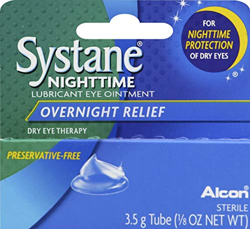 Systane Nightime Ointment 3 5g Pack