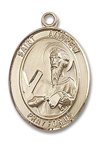 14-karat-gold-catholic-patron-saint-medal-pendant-1-inch