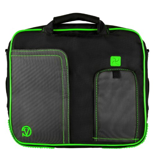 pindar-messenger-shoulder-carrying-bag-durable-case-green-trim-for-the-philips-pd9016-9-inch-portabl