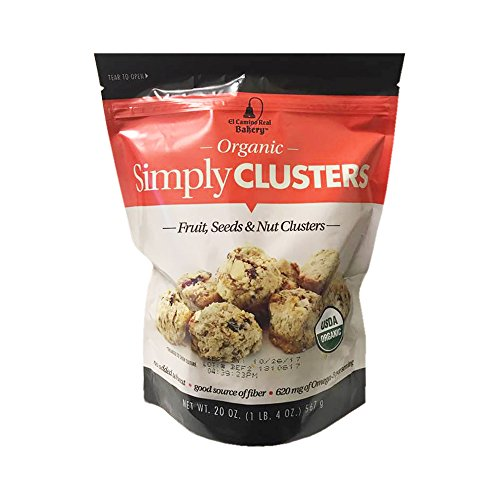- Organic Simply Clusters Fruit, Seeds & Nut Bites Family Size Pack 1lb 4oz