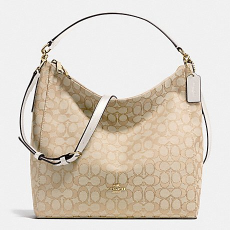 Coach Outline Signature Celeste Hobo Shoulder Crossbody Bag Purse Handbag - Lil Zip Bag