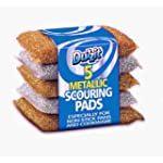 Duzzit 5 x Metallic Scouring Pads for...