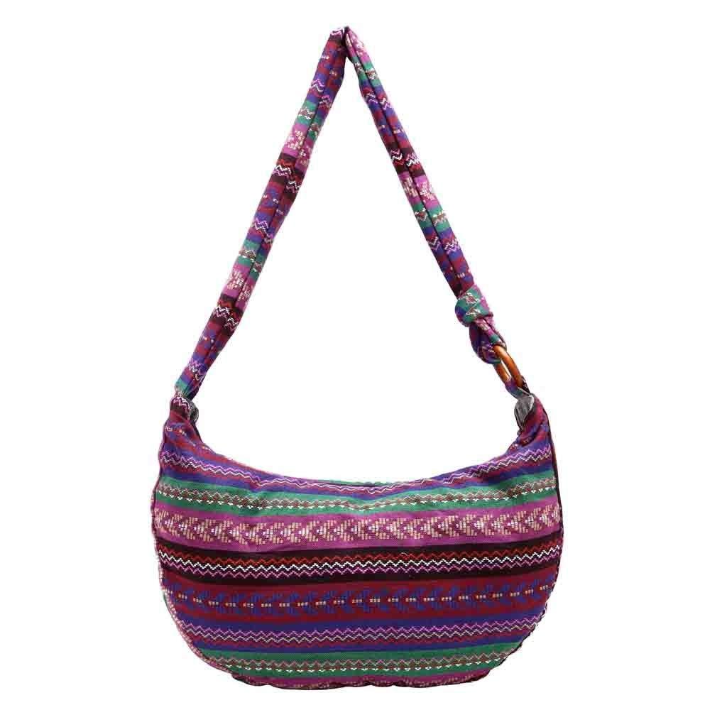 TEEGUI Crossbody Bag Canvas Floral Folk-Custom Women Cloth Bag Hand Bag  Printing Shoulder Bag For Women  Handbags  Amazon.com 205d6cfc5135f