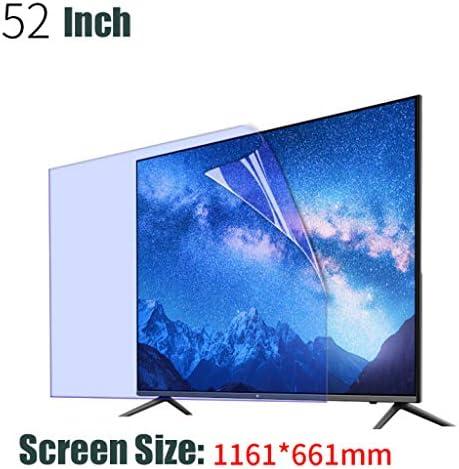 HUYYA 52 Pulgadas de TV Azul Claro Protector de Pantalla, Screen Protector Protección de Pantalla Anti Luz Azul Antideslumbrante para LCD, LED, OLED y 4K QLED HDTV,U: Amazon.es: Hogar