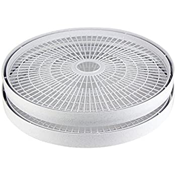 Nesco LT-2SG Add-A-Tray for Dehydrators FD-61/FD-61WHC/FD-75A and FD-75PR, Set of 2