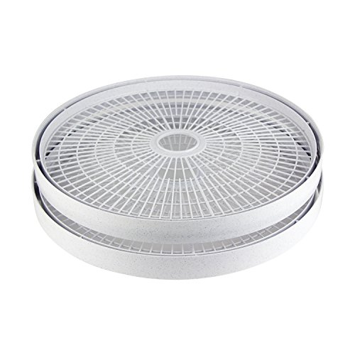 Pro Cycle Labs - NESCO LT-2SG Add-a-Tray for Dehydrators FD-61, FD-61WHC, FD-75A and FD-75PR, Gray, Set of 2