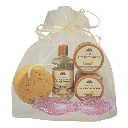 Tree Hut Shea Moisturizing Body Care Set Featuring Body Wash