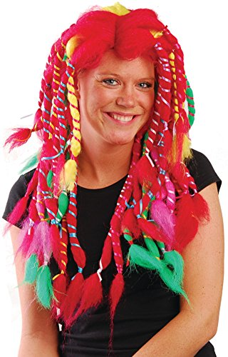 Sally Rag Doll Halloween Costume (Rainbow Sally Rag Doll Raggedy Anne Costume Wig)
