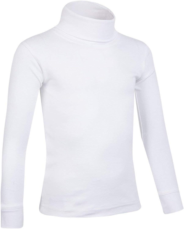Mountain Warehouse Camiseta de algodón con Cuello Vuelto Meribel para niños: Amazon.es: Ropa y accesorios