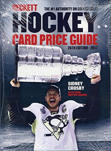 current-beckett-hockey-annual-card-price-guide-26th-edition-2017-sidney-crosby