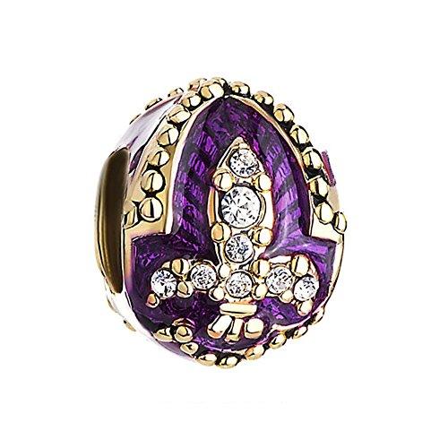 Purple Fleur De Lis - 1