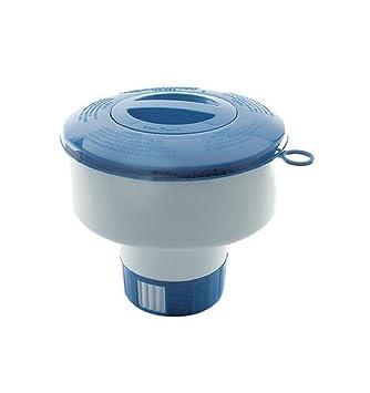 Cloro flotante dispensador cloro Dosificador cloro pastillas Dosificador Pool Piscina: Amazon.es: Jardín