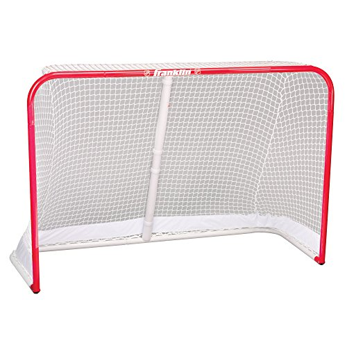 Franklin Sports NHL Championship Steel Street Roller/Hockey Goal (48-Inch x 72-Inch) by Franklin Sports