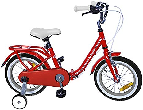 Ma Bicyclette - Bicicleta Plegable roja de 16