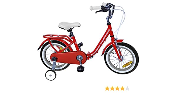Ma Bicyclette - Bicicleta Plegable roja de 16