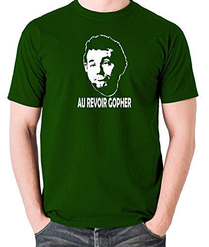 Caddyshack Inspired t Shirt - Carl Spackler, Au Revoir Gopher Green]()
