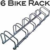 EasyGo Floor Stationary Six Bike Wheel Rack, Indoor – Outdoor Bike Stand Review
