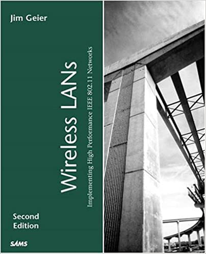Book Emerging Wireless LAN Technologies and Standards (Sams White Book)