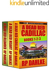 The DEAD RED MYSTERY SERIES Boxed Set Books 1-2-3: A Lalla Bains Humorous Mystery