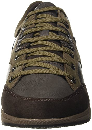 Geox Men's U Avery a Low-Top Sneakers Brown (Dk Coffeec6024) discount cheapest price cnGfJbxrZD