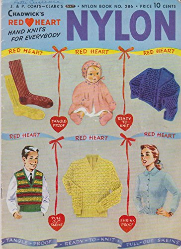 Chadwick's Red Heart Hand Knits for Everyone Nylon