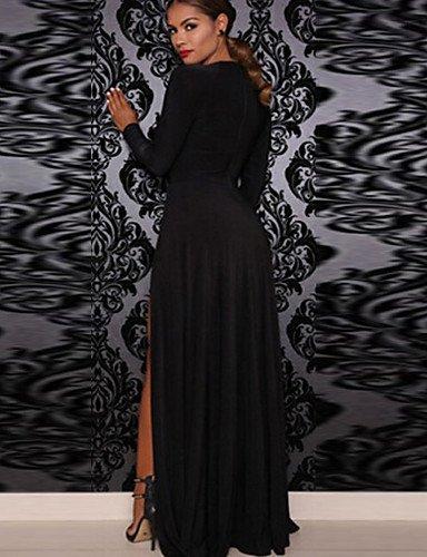 Mujer Fiesta Fiesta La Partido Playa De Vestido De JIALE3536 Vestidos De Negro Mujer qOCwSEAIxT
