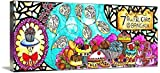 Wall Art Print entitled Cake Buffet By Chanakan Budrak by They Draw & Cook & Travel | 48 x 18