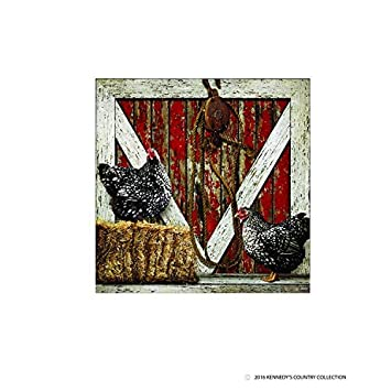 Amazon The Red Barn Door Canvas 20 X 20 X 1 Posters Prints