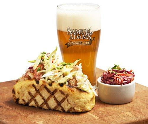 Samuel Adams Ale (Samuel Adams Summer Ale Lobster Roll)