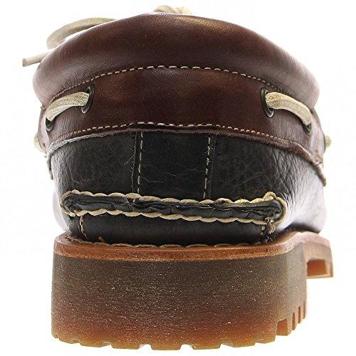 Timberland 3 Eye Classic Lug, Mocasines para Hombre Forged Iron Galera FG