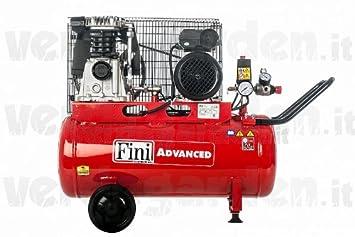 Compresor correa Profess. KIT Advanced 50 litros de aire: Amazon.es: Bricolaje y herramientas