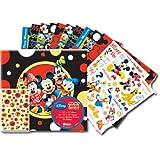 SandyLion 12-Inch by 12-Inch Disney Mickey and Friends Scrapbook Album Kit
