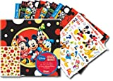 Sandylion 12-Inch by 12-Inch Disney Mickey and Friends Scrapbook Album Kit