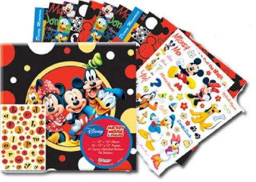 (Sandylion 12-Inch by 12-Inch Disney Mickey and Friends Scrapbook Album Kit)