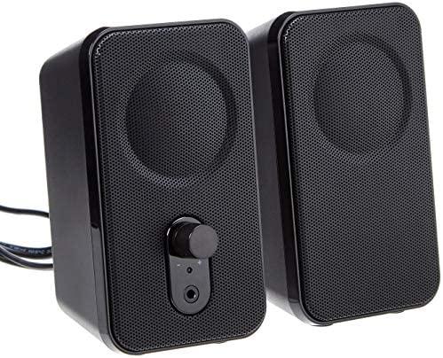 AmazonBasics Computer Speakers Desktop AC Powered product image