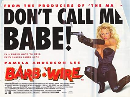 Image result for barb wire movie poster
