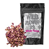 Gifts Flowers Food Best Deals - Whole Dried Pink Roses Pieces, 100% Natural Dried Rose Flowers For Homemade Tea Blends, Potpourri, Bath Salts, Gifts, Crafts, Wild Flower #9 (4 ounce)