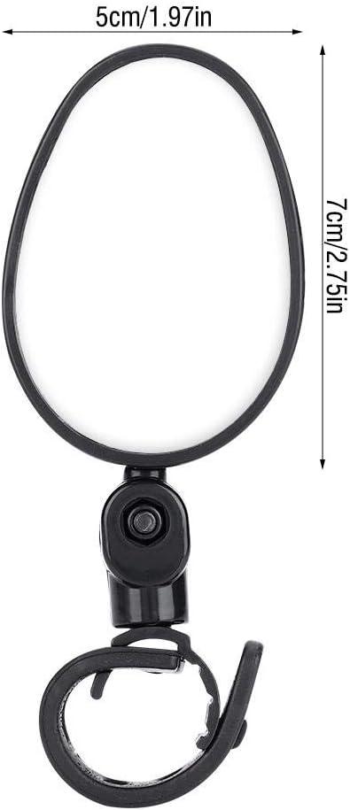Alomejor Specchietti Retrovisori Bici 180 Specchio Rotante Regolabile Specchietto Retrovisore Flessibilit/à per Manubrio della Maggior Parte delle Bici