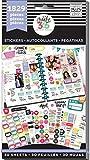 Me & My Big Ideas Planner Basics Stickers, Multi-Colour