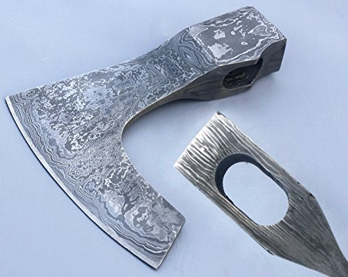 Damascus Knife Handmade – AXE Hatchet Head only JNR5022